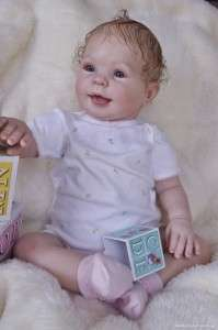 Reborn Vinyl Doll Kit Supply Baby Cookie Donna RuBert