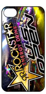 ROCKSTAR ENERGY DRINK iphone 4 HARD COVER CASE