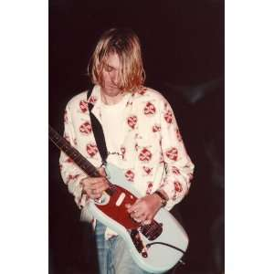 Kurt Cobain Nirvana Poster Rock n Roll Punk Music Posters