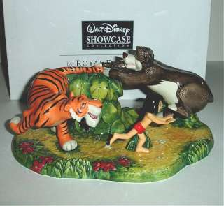 Royal Doulton Disney Jungle Book Run Mowgli Tiger Bear Limited Edition