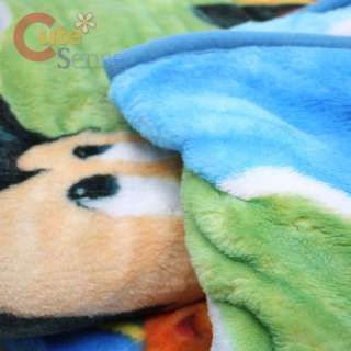 Disney Mickey Mouse & Friends Raschel Plush Blanket 60 x 80  Play