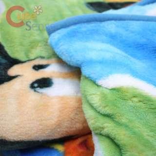 Disney Mickey Mouse & Friends Raschel Plush Blanket 60 x 80  Play