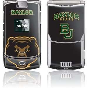 Baylor University Bears skin for Motorola RAZR V3