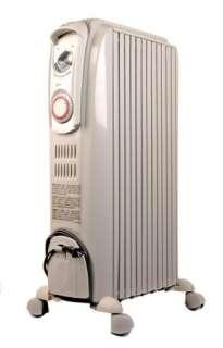 TRD0715T DeLonghi 1500 Watt Oil Filled Radiator Heater With 3 Variable