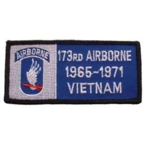 U.S. Army 173rd Airborne 1965 1971 Vietnam Patch 1 3/4 x