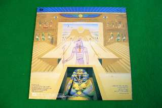 IRON MAIDEN   POWERSLAVE, KOREA LP Red Line Cover EX+