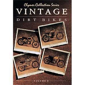 Clymer MANUAL VINTAGE DIRT BIKES VOL2 M301 Automotive