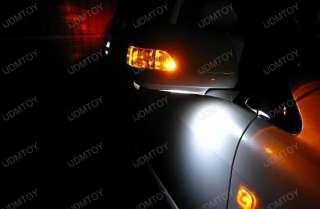 White 168 2825 12 SMD LED Under Mirror Puddle Lights#C3