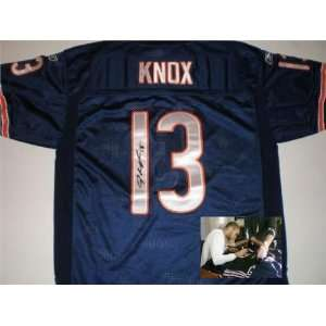 Chicago Bears) autographed Football Jersey   Autographed NFL Jerseys