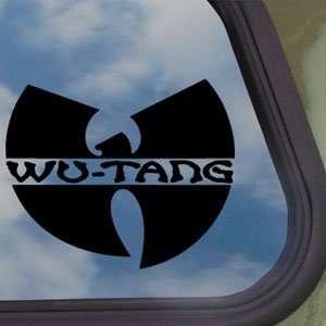 Wu Tang Clan Black Decal Rap Rock Band Truck Window Sticker