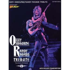 Ozzy Osbourne   Randy Rhoads Tribute   Guitar Personality