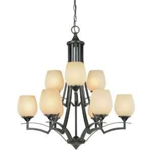 Dolan Designs 2732 34 Empress Olde World Iron 9 Light