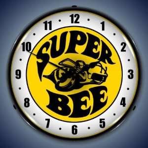 Super Bee Lighted Clock