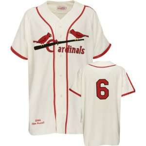 Stan Musial Mitchell & Ness Authentic 1944 Home St. Louis Cardinals