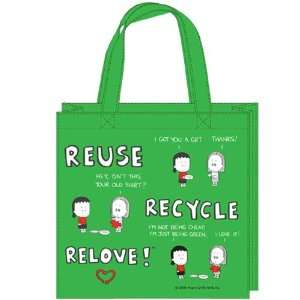 Angry Little Girls Relove Shopper Tote Arts, Crafts
