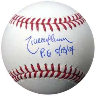 RANDY JOHNSON AUTOGRAPHED SIGNED MLB BASEBALL PERFECT GAME PSA/DNA