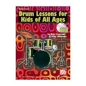 Drum Lessons For Kids Of All Ages Book & CD Electronics