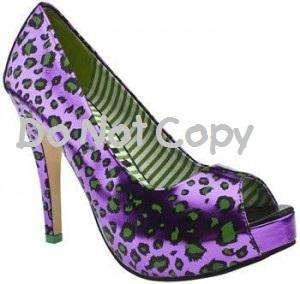 Nail Decals *Set of 20* PURPLE HIGH HEEL