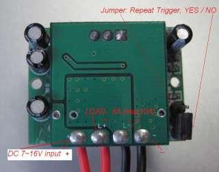 DIY PIR Motion Detector Switch 12V f. Solar Lights Lamp