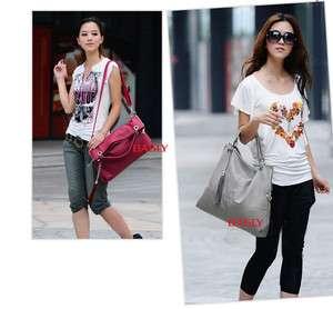 Hobo PU leather women fashion handbag shoulder bag purse N1880