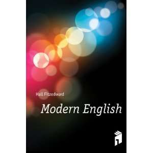 Modern English: Hall Fitzedward: Books