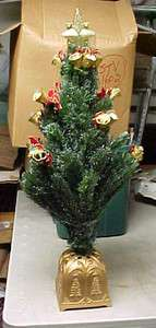 31 Puleo Fiber Optic Bell Christmas Tree