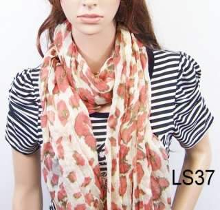 New fashion girls leopard scarf womens scarves shawl wrap stole