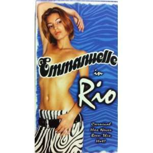 Emmanuelle in Rio [VHS] Ludmilla Ferraz, Hoyt Christopher