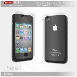Iphone 4 Premium Screen Protector Shield (Front & Back