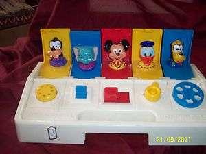 Vintage Poppin Pals Playskool Hasbro Disney Characters FS