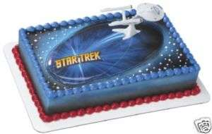 Star Trek USS Enterprise Cake Kit topper decoration NEW