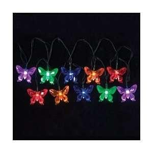 LED String Lights, Multi Color Butterflies, Indoor Outdoor
