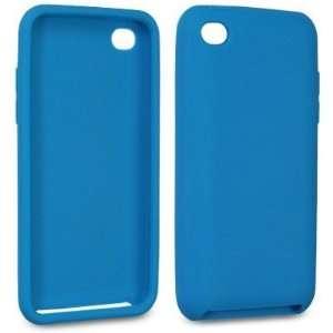 Modern Tech Blue Soft Gel Case for Apple iPod Touch 4 4G