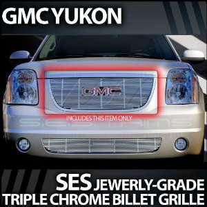 2007 2012 GMC Yukon SES Chrome Billet Grille (top