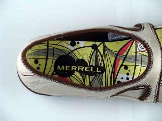 Merrell Plie taupe slip on mary jane womens shoes NIB
