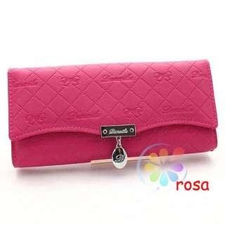free new fashion PU long lady women Clutch Wallet Purse