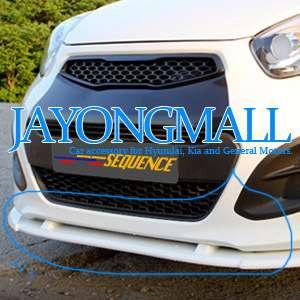 KIA All new 2011 PICANTO Aero Parts Front Lip Bumper