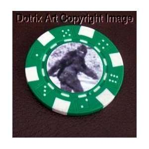 Bigfoot Las Vegas Casino Poker Chip limited edition