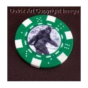 Bigfoot Las Vegas Casino Poker Chip limited edition