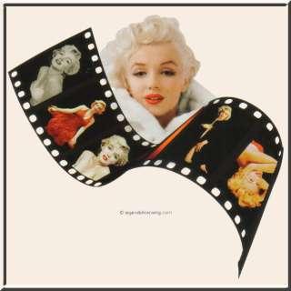 Marilyn Monroe Filmstrip Photos T Shirt S 2X,3X,4X,5X