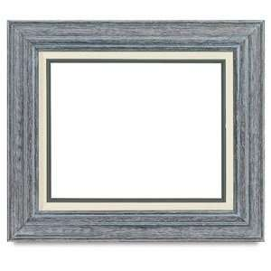 Wood Frames   8 x 10, Country Classic Wood Frame, Sycamore Gray Arts