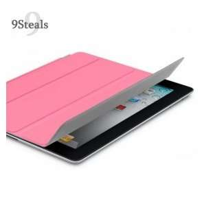 SHARKK Pink iPad Magnetic Smart Cover Magnetic Stand Case