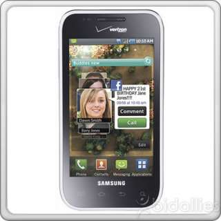 MINT SAMSUNG FASCINATE GALAXY S I500 VERIZON WIRELESS GPS ANDROID CELL