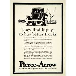 1927 Ad Pierce Arrow Car Truck Motor Buffalo New York