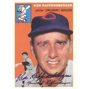 Ken Raffensberger Autographed/Hand Signed 1992 Topps 1954