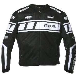 Joe Rocket Yamaha Champion Mens Mesh Textile Motorcycle Jacket Black