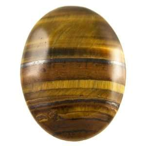 30x22mm Brown Tiger Eye Oval Cabochon   Pack of 1 Arts
