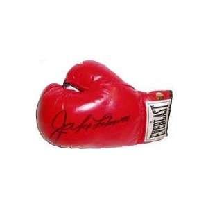 Jake LaMotta Autographed Boxing Gloves