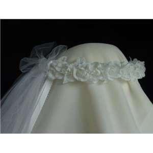 Flower Girl Wreath Bridal Headpiece Bridesmaid Meaghan