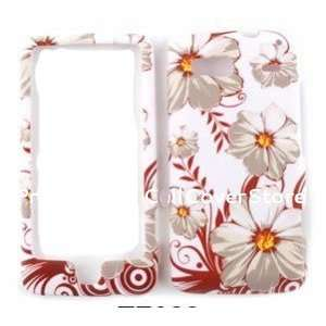 HTC Vision Flowers Fall Graphic Design Hard Case Cell